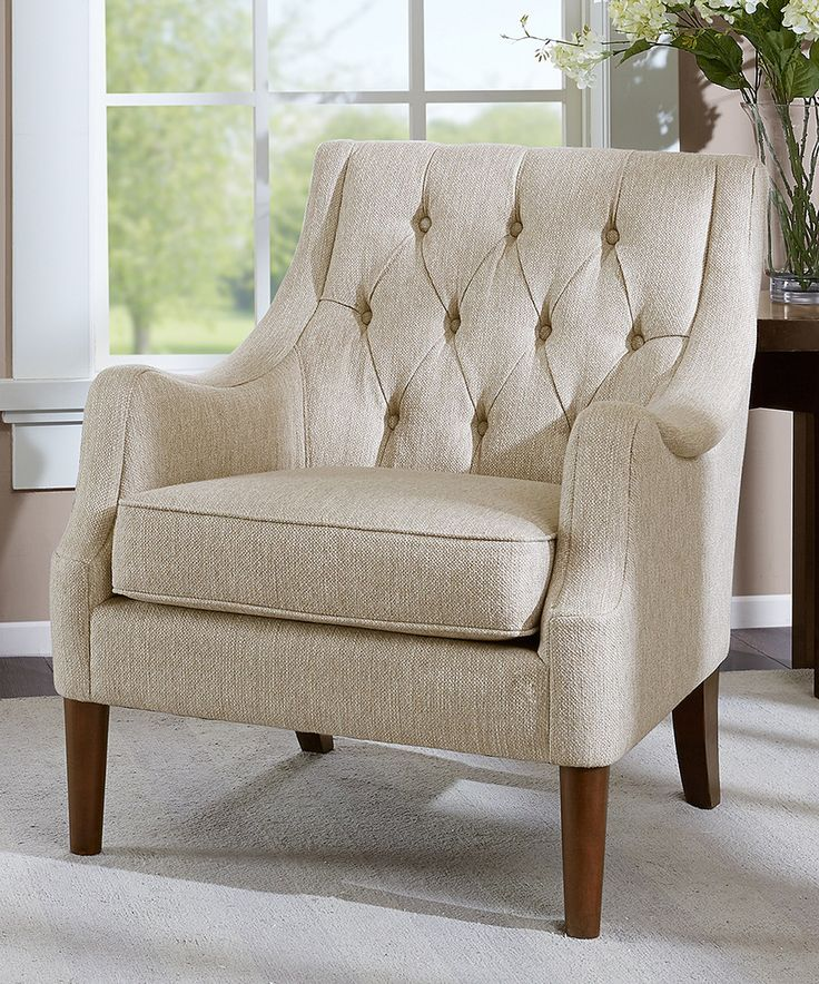 Diamond Tufted Vintage Chair Living Room Chairs Tufted