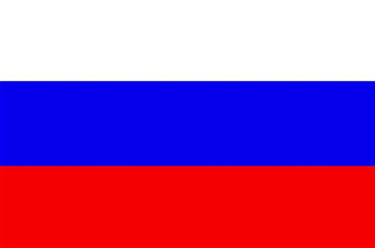 Bandera de Rusia RESINA