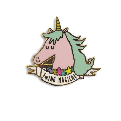 Hey, I found this really awesome Etsy listing at https://www.etsy.com/listing/474078591/fing-magical-unicorn-enamel-lapel-pin