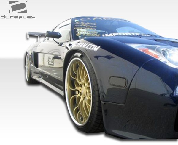 Duraflex 91-05 Acura NSX GT300 Wide Body Front Fenders Kit