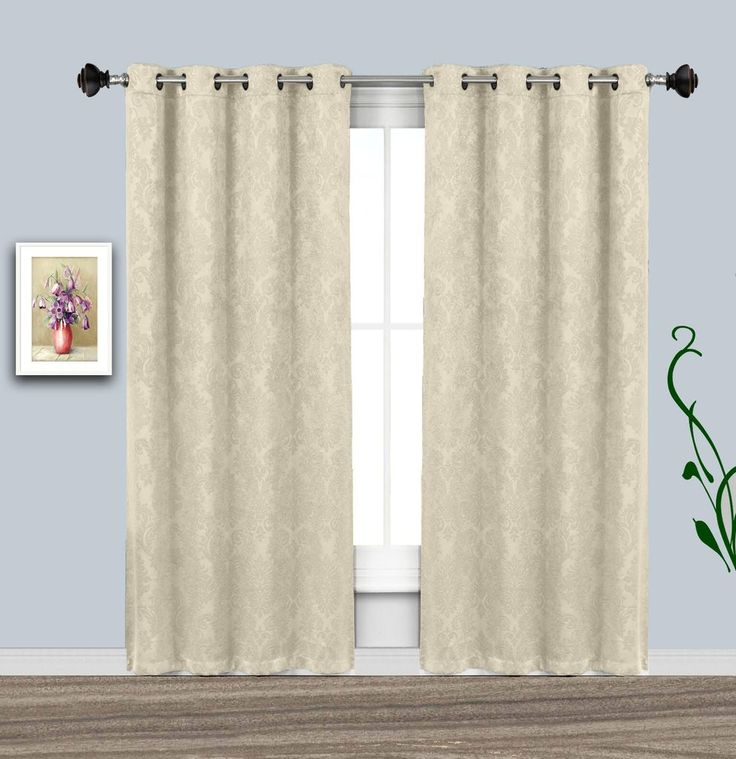 Warm Home Designs Room Darkening Blackout Curtains