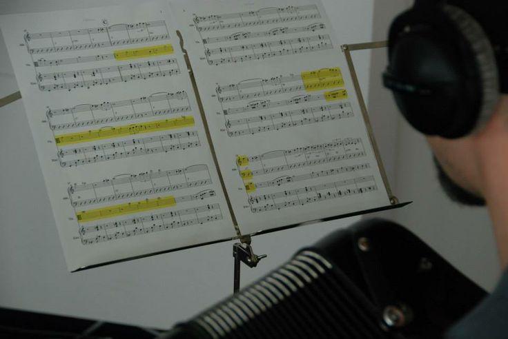 Music recordings for the #hsgfilm // Musikaufnahmen für den HSG Film