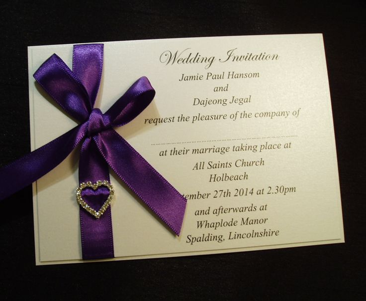 Cadbury Purple Wedding Invitations: 16 Best Images About Wedding Invitation Ideas On Pinterest