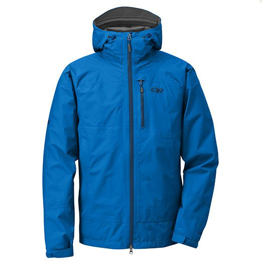 OR Foray Men's Jacket - This lightweight GORE-TEX® shell with all-season features provides complete protection when the skies open up.