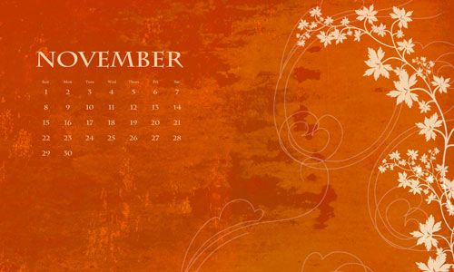 November Calendar Wallpaper For Iphone : Iphone wallpaper november calendar download