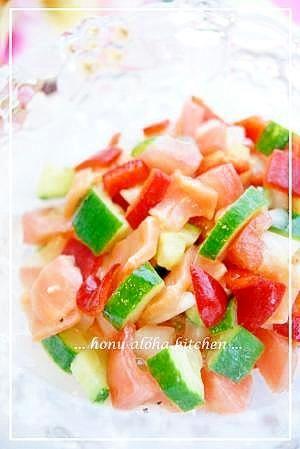 ハワイの風~ ロミロミサーモン レシピ