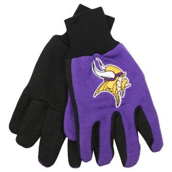 Minnesota Vikings Two Tone Youth Size Gloves