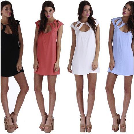 MADISON SQUARE Sugar babe cutout dress — Light & Beauty Boutique