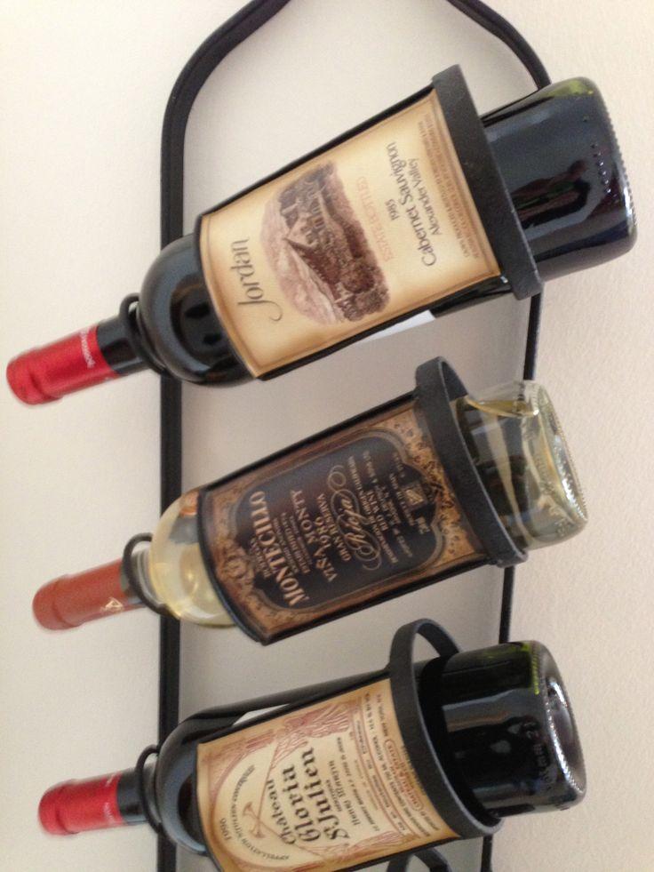 Wine rack decoration