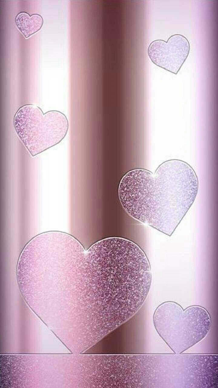 Pin By Cindy Anderson On Fondos De Pantalla In 2020 Heart Wallpaper Bling Wallpaper Glitter Wallpaper