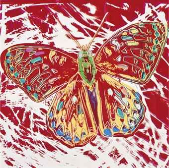 "Andy Warhol ""Endangered Species: San Francisco Silverspot"" NY, 12th Nov 2012, US$1,258,500"