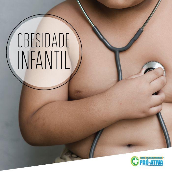 A obesidade é considerada a doença crônica que mais prevalece na população infantil. Algumas doenças como pressão alta, alteração de colesterol, diabetes, apnéia do sono, podem ser geradas pela obesidade infantil. Fique atento, pois a obesidade infantil pode trazer sérios riscos ao decorrer da vida. #ProAtiva #Obesidade #Infantil #Criança #Alimentação #AtividadeFísica #Doenças #Riscos #Prevenção