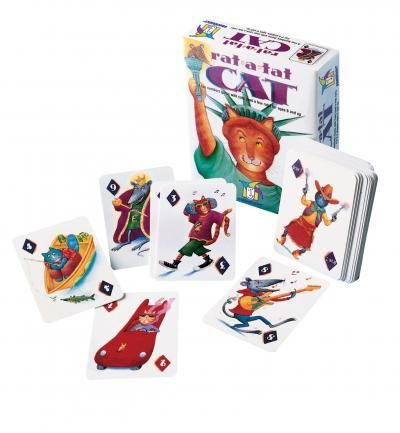 The best game - from age 6-96!  Short games, done in 5 min, so you can play as many or as few as you have time for.  We've had hours of fun with this!