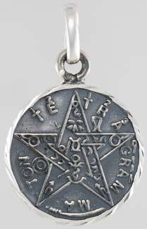 Tetragrammaton Sterling Silver pendant
