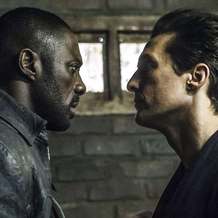 """Idris Elba y Matthew McConaughey en """"La Torre Oscura"""" (The Dark Tower), 2017"""