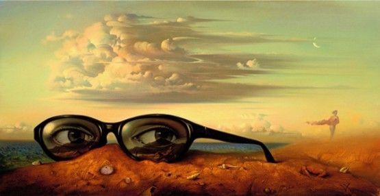coolVladimir Who, Surrealism Painting, Artists, Surrealism Art, Vladimirkush, Painting Art, Kush Art, Forgotten Sunglasses, Kush Surrealism