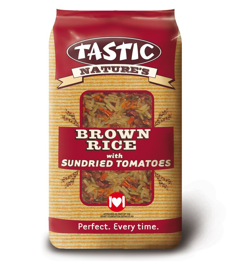 Tastic Brown Rice with Sundried Tomatoes 1kg