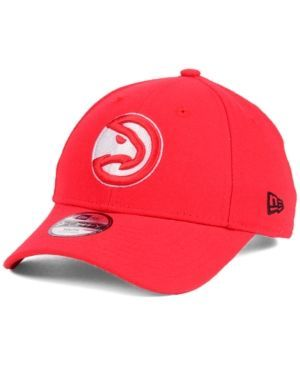 New Era Kids' Atlanta Hawks League 9FORTY Adjustable Cap - Red Youth