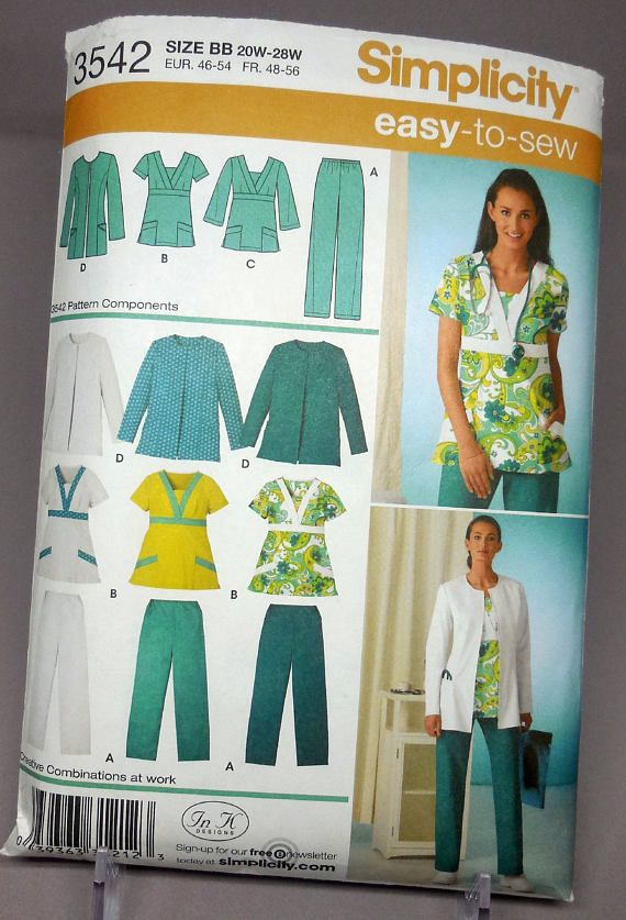 Nursing Uniform Pattern 44