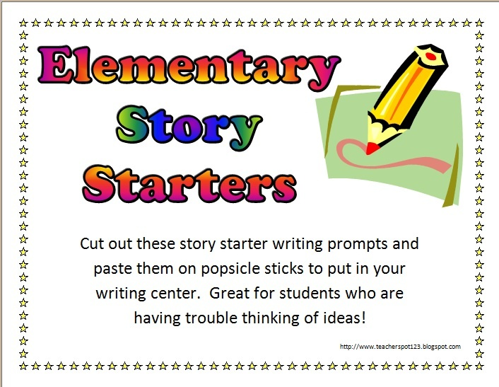 elementary narrative writing prompts Similar to kindergarten prompts, elementary-level narrative writing prompts typically rely on visual observations while a picture-based prompt is likely the best option, elementary students can.