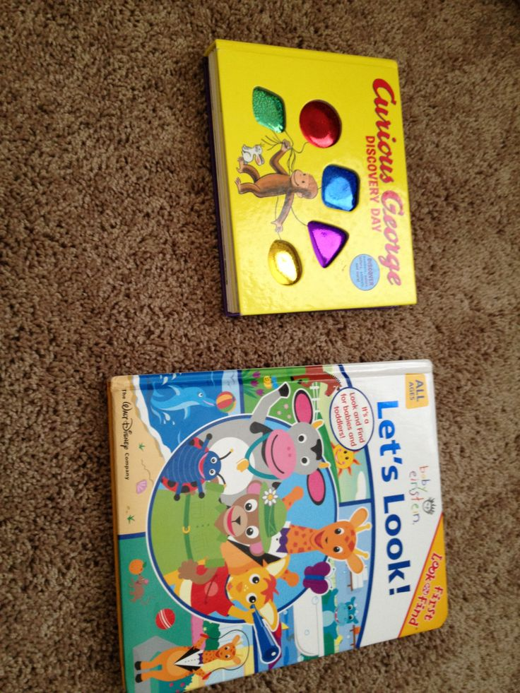 ALL: books with shapes, colors, numbers, etc.