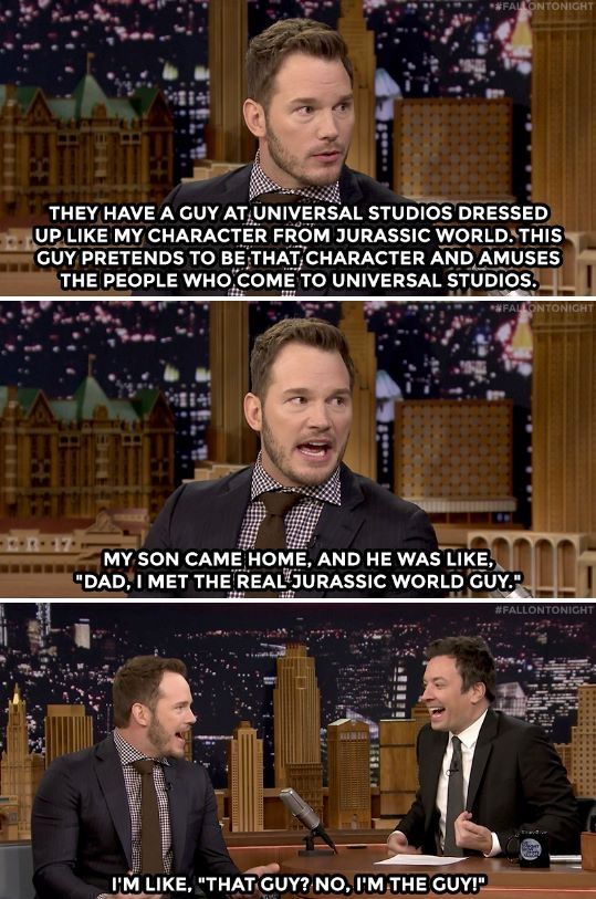 And then Jimmy threw his head back in a gigantic fit of laughter!