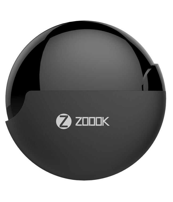 Zoook Rocker RDX I1 In Ear Wearable Earphones with Mic (Black)