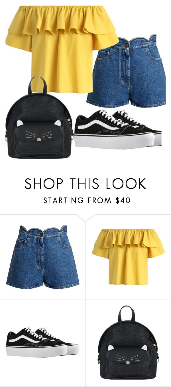 """Day in the Sun"" by belle13lee on Polyvore featuring Valentino, Chicwish, Vans and Accessorize"