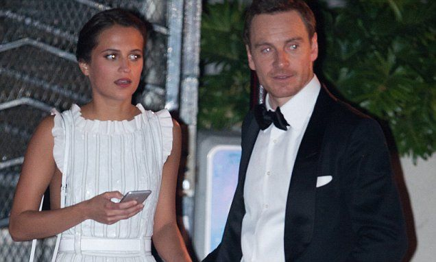 Michael Fassbender and Alicia Vikander BOTH receive Oscars 2016 nominations | Daily Mail Online