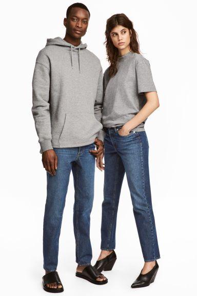 Uni Jeans 2 - Donker denimblauw - HEREN | H&M BE 1