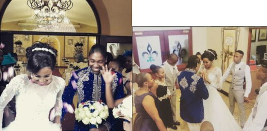 South African Lesbian athlete, Caster Semenya weds partner on her birthday (Photos) - TheInfoNG.com