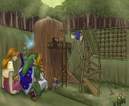 17 best images about loz ocarina of time on pinterest for Housse zelda