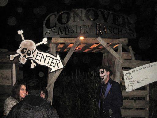 Haunted Corn Maze   ... haunted corn maze conover mystery ranch the swank farms haunted corn