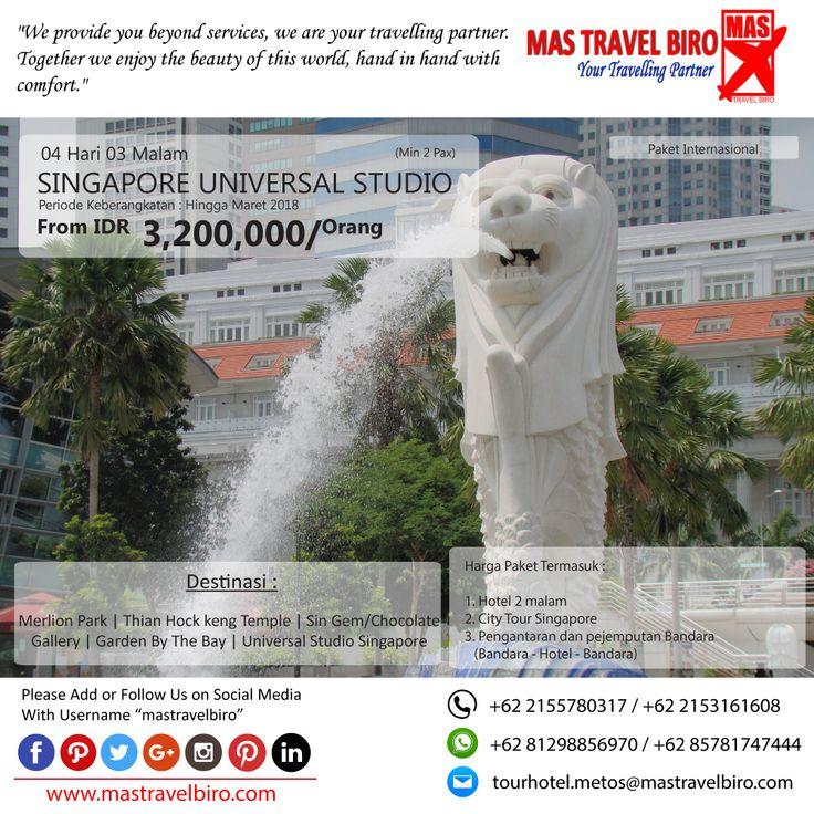 Promo Tour SINGAPORE, Yuks di pilih masih banyak lagi promo Tour Domestik dan Internasional😊  (Paket tour belum termasuk tiket pesawat)  Beli tiket pesawat & KAI, booking hotel dan beli paket tour diMas Travel Biro ajaa.  #mastravelbiro #promotiket #travelservices #tiketpesawat #travelagent #tourtravel #travelindonesia #opentrip #familytour
