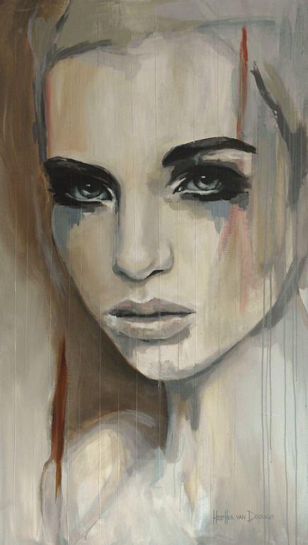 Saatchi Online Artist: Hesther Van Doornum; Acrylic, 2013, Painting