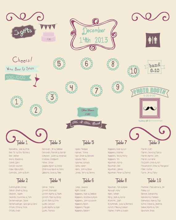 319 best images about wedding seating chart map on pinterest