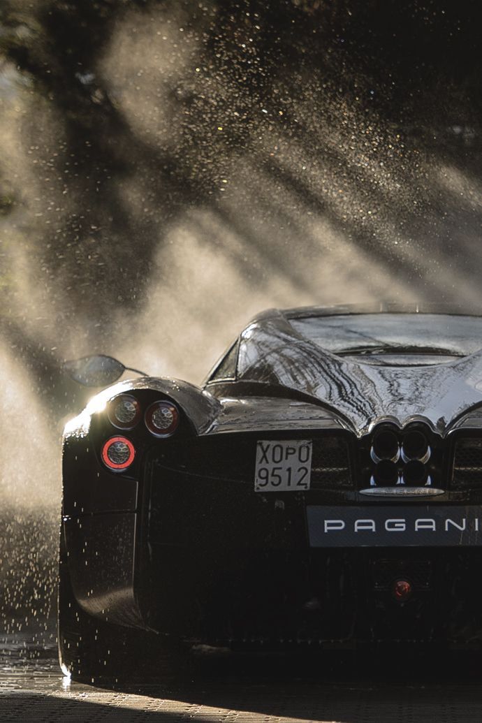 "artoftheautomobile: ""Pagani Huayra (Credit: William Barber) """