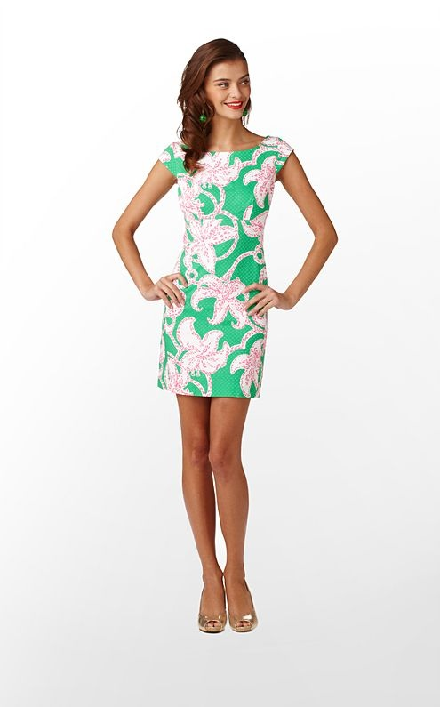 i <3 all things Lilly Pulitzer. Especially this Allura Dress