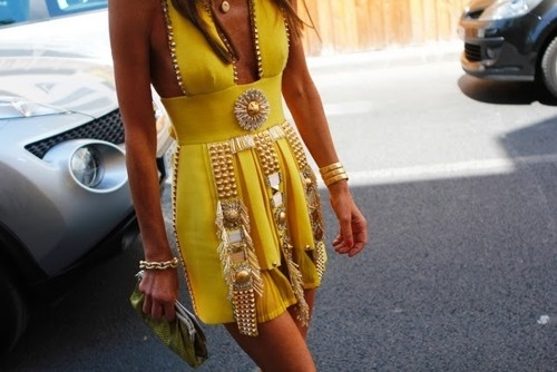 detailPretty Clothing, Fashion Fade, Fearless Fashionista, Yellow Dresses, Style Inspiration, Fashion Forward, Dresses Obsession, Amazing Dresses, Anna The Russian