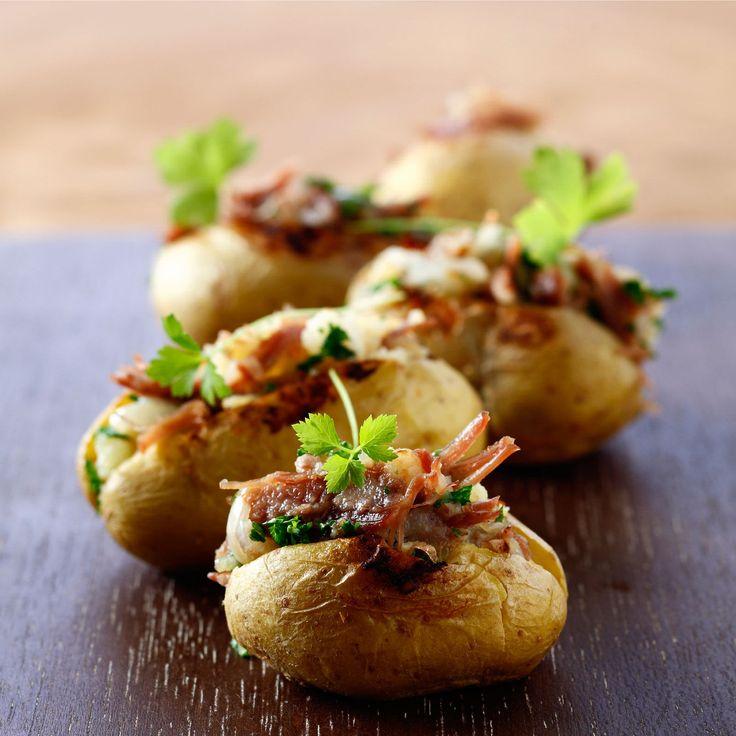 Découvrez la recette des pommes de terre farcies