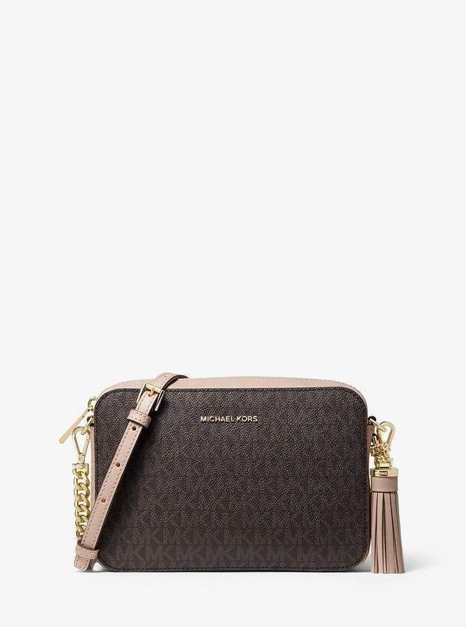 Michael Kors Ciara Borsa a tracolla grande con portafoglio