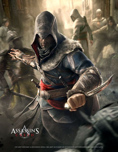 Poster Fight Your Way - Assassin's Creed