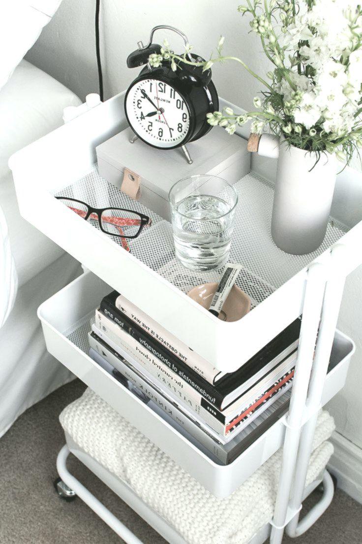 So Organisieren Und Gestalten Sie Ihr Zuhause Mit Einem Rollwagen Einem Gestalten Ihr Mit Ideen Fur Kleine Schlafzimmer Tumblr Zimmer Gestalten Wohnung
