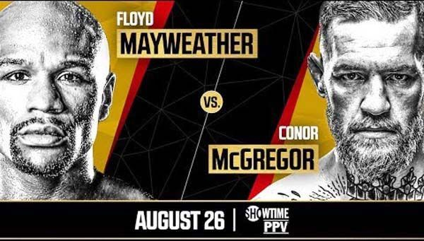 Mayweather vs McGregor Pay Per View Price or Cost