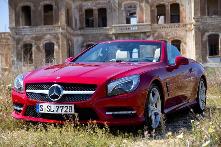 Mercedes SL500 ist einfach das schoenste Cabrio...