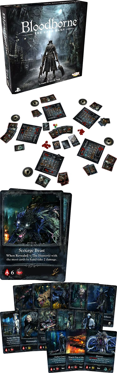 Other Card Games and Poker 2552: Contemporary Games Bloodborne The Card Game Blood Borne Video Game Inspired -> BUY IT NOW ONLY: $36.67 on eBay!