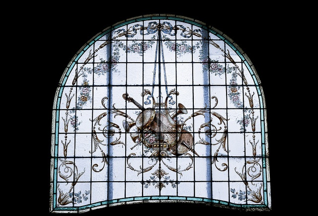 """""""George Enescu"""" National Museum (1901) (interior detail) by Dominuz, via Flickr"""