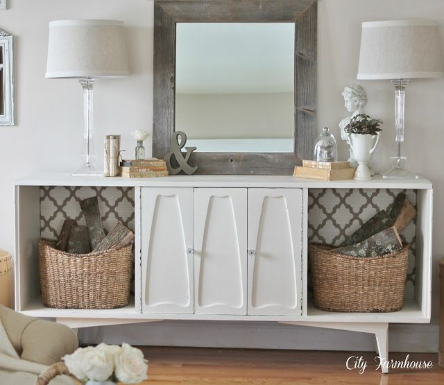 Vintage Stereo Makeover for just $10-City Farmhouse