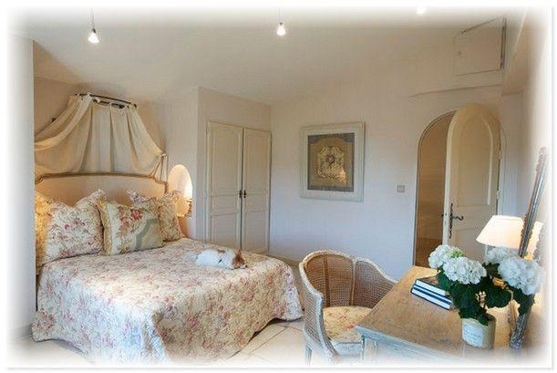 Восхитительная спальня в стиле Прованс