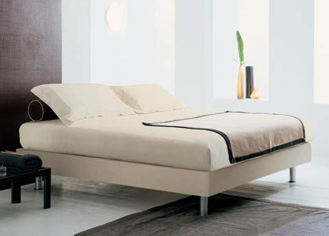 17 best ideas about bed without headboard on pinterest shelving over bed shelf over bed and - Bed frames without headboards ...